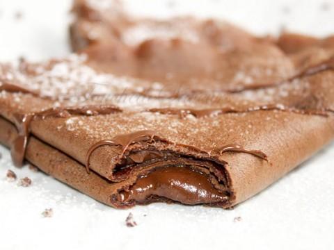 Crêpes tout chocolat1
