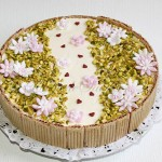 Entremet fleuri fromage blanc speculoos