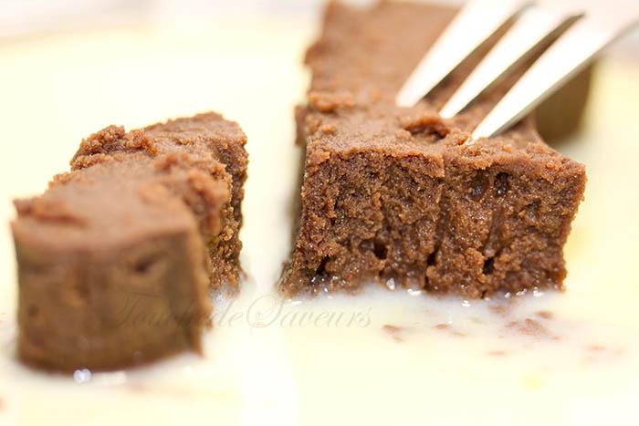 Fondant léger chocolat marron1