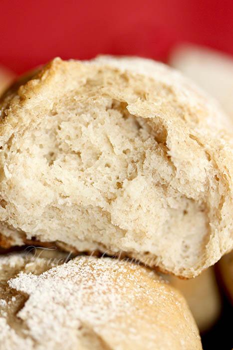 Petits pains complet carrés frais1