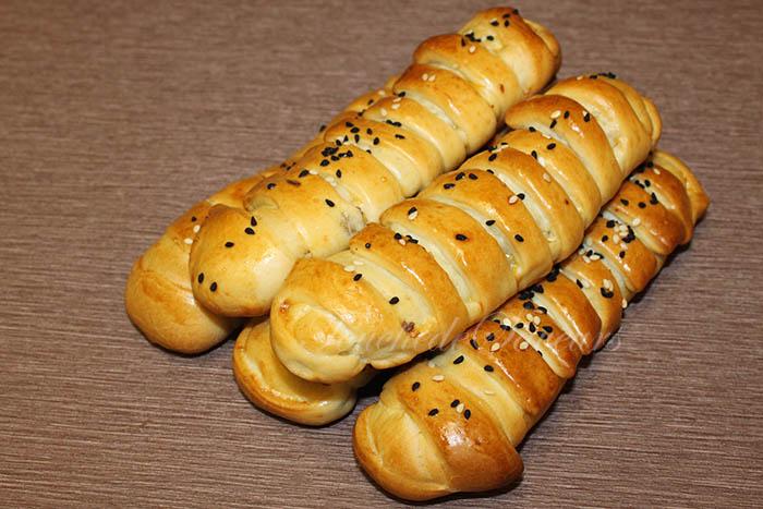 Petits pains farcis viande hachée fromage