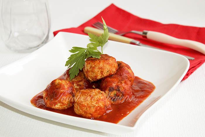 Boulettes poulet coeur mozzarella