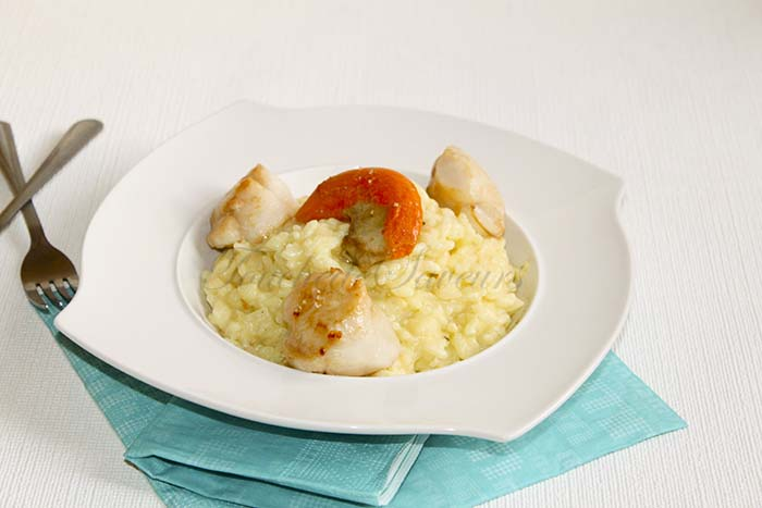 Risotto St Jacques
