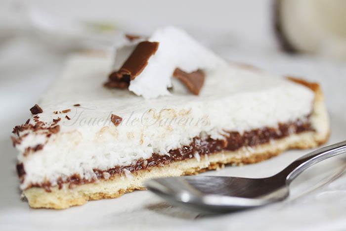 Tarte chocolat mousse coco1
