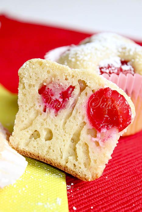 Muffins cerise1
