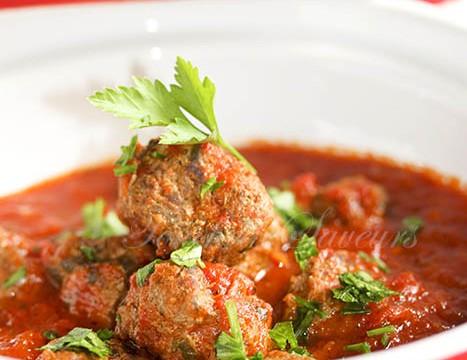 Boulettes boeuf sauce tomate façon tajine1