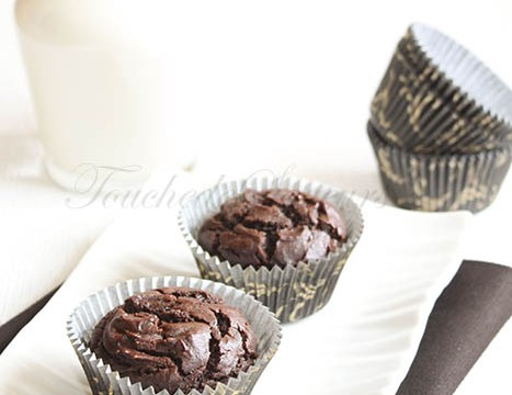 Muffins extra moelleux chocolat