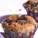 Muffins chocolat myrtilles1