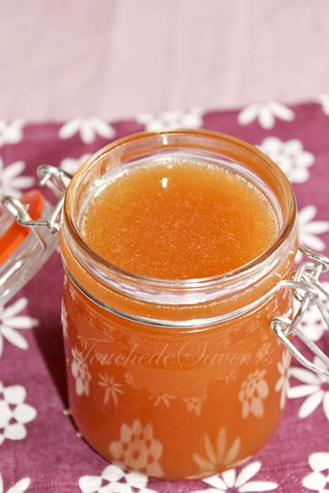 Caramel sirop d'agave