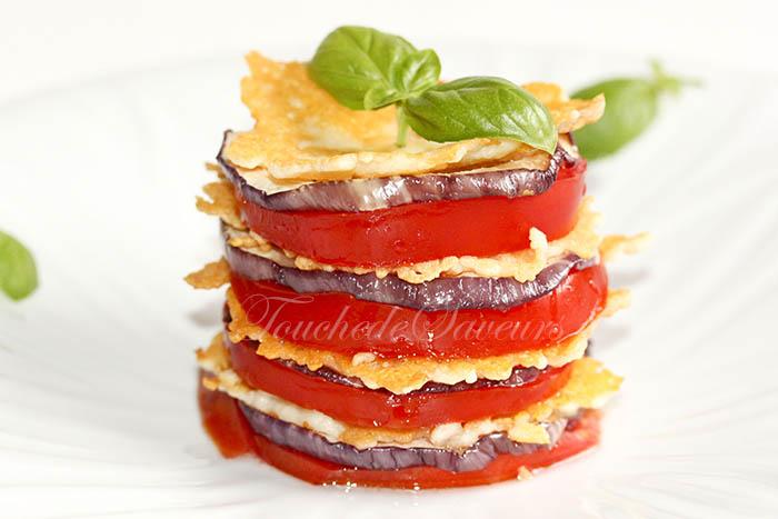 Millefeuille aubergine tomate1