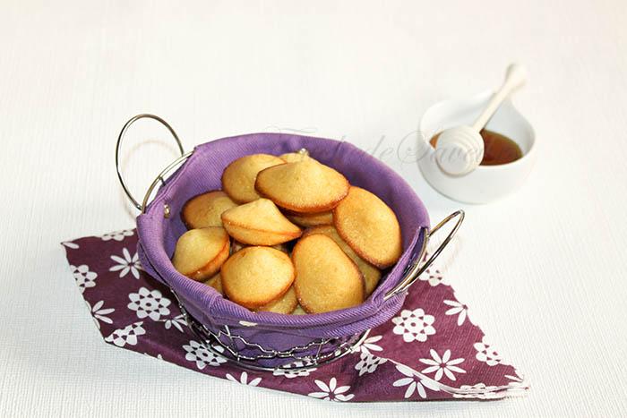 Mini madeleines yaourt miel2