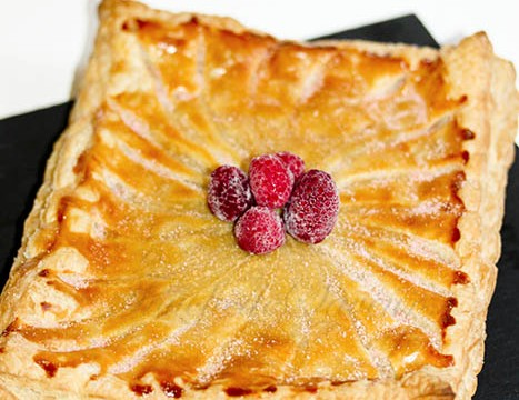 Galette biscuits roses framboise
