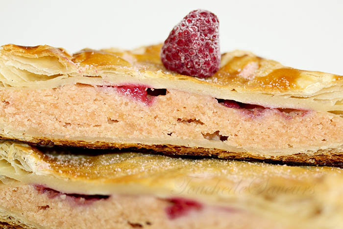Galette biscuits roses framboise2