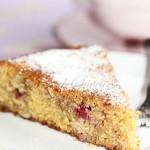Gâteau polenta framboise1