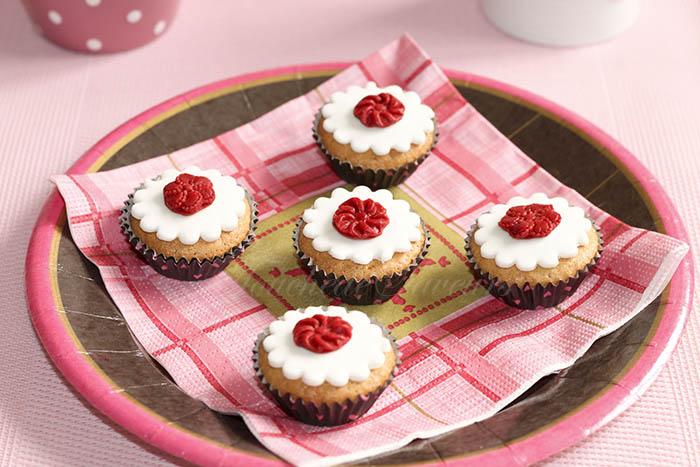 Mini muffins amandine framboise