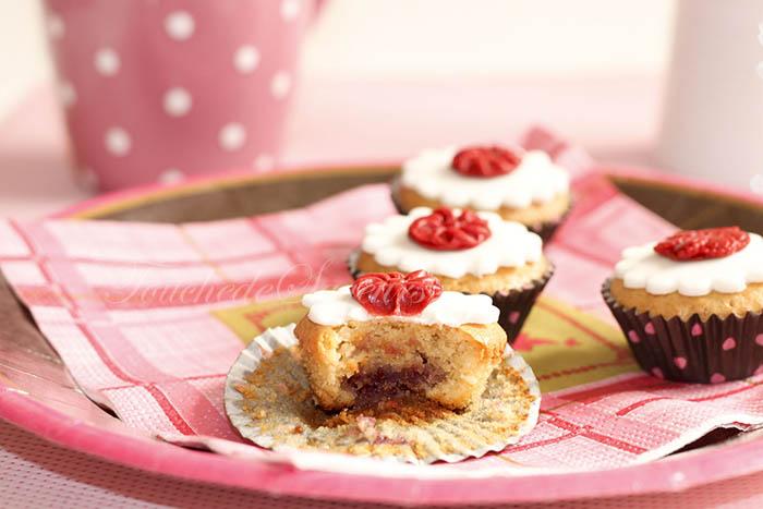 Mini muffins amandine framboise1