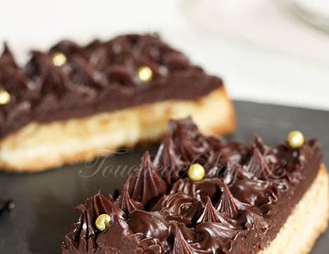 Tarte amande chocolat tonka1