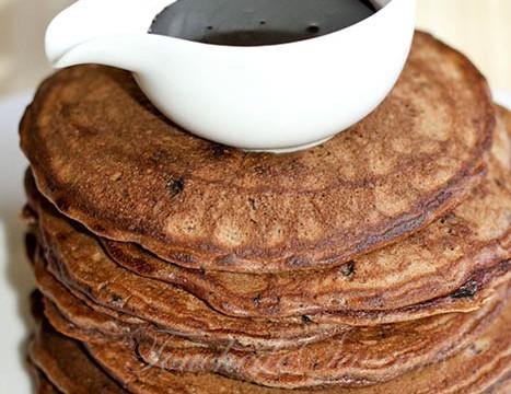 Pancakes tout chocolat