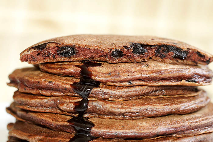 Pancakes tout chocolat1
