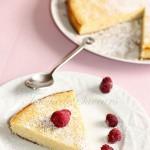 Gâteau ricotta polenta citron1