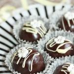 Boules sans cuisson chocolat praliné