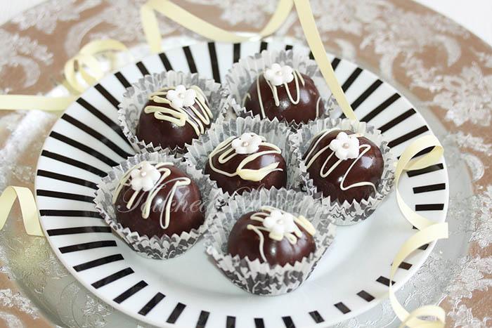 Boules sans cuisson chocolat praliné1