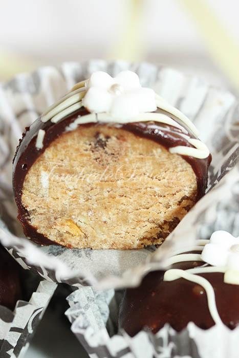Boules sans cuisson chocolat praliné2