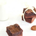 Brownie confiture de lait moka