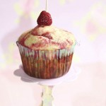 Muffins marbrés framboise1