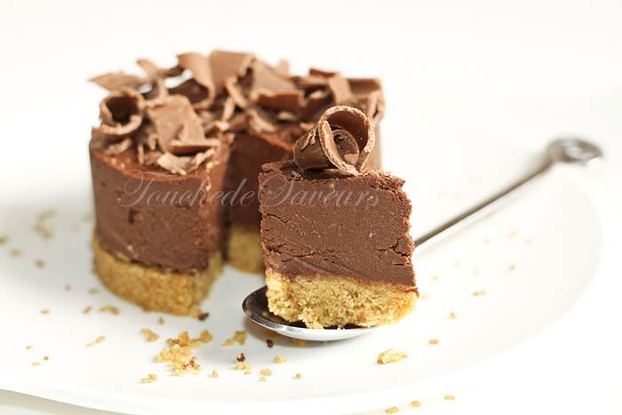 Cheesecake chocolat ricotta agar agar2