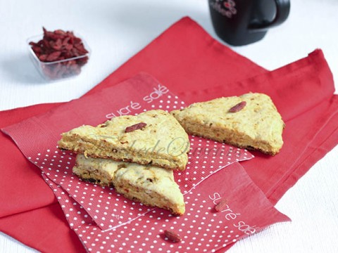Scones baies de Goji1