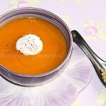 Soupe épicée potiron quinoa