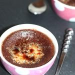 Crème brûlée cacao