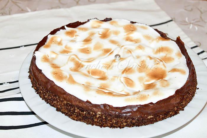 Tarte chocolat meringuée1