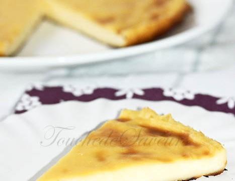 Flan parisien sans pâte