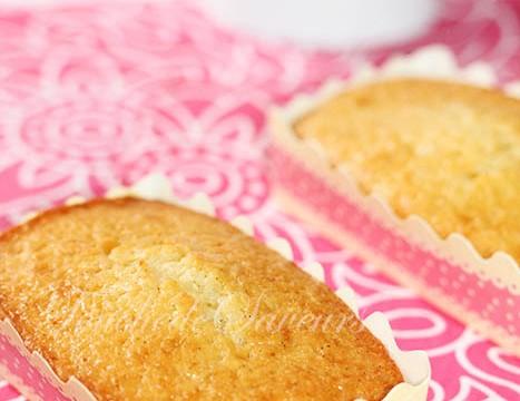 Petits cakes vanille citron1