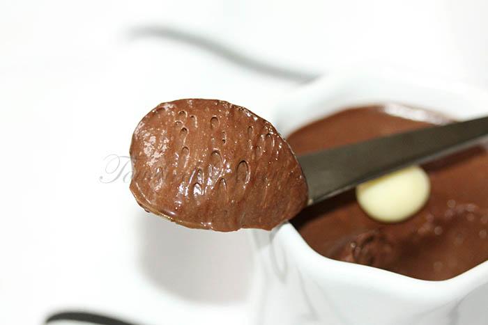 Crème mousseuse au chocolat2