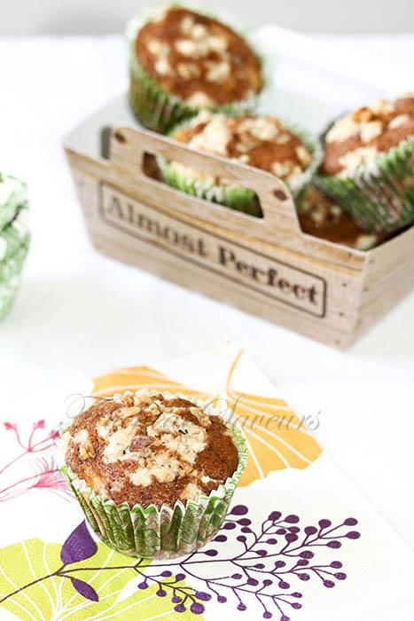 Muffins pomme érable crumble noix1