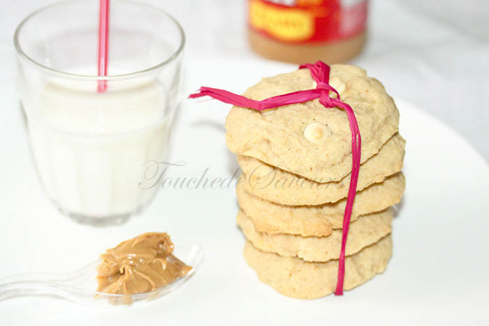 Cookies philadelphia beurre de cacahuètes