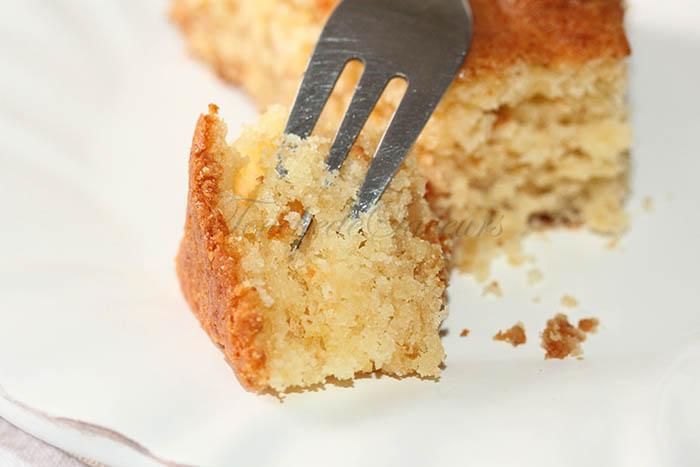 Gâteau à la pâte d'amande2