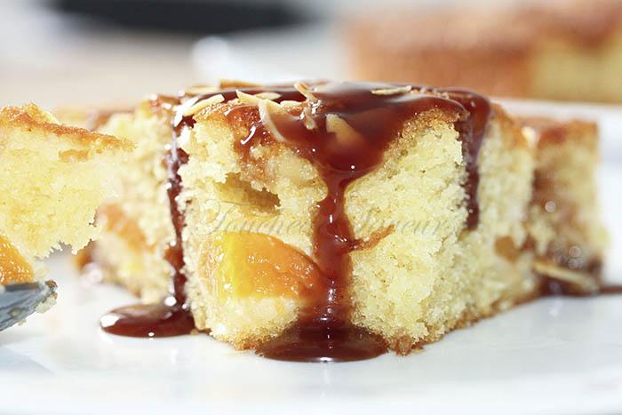 Gâteau abricot amande2