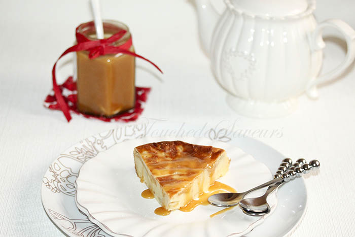 Gâteau soufflé aux pommes façon clafoutis