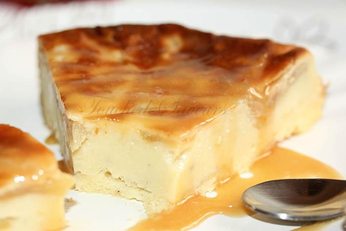 Gâteau soufflé aux pommes façon clafoutis2