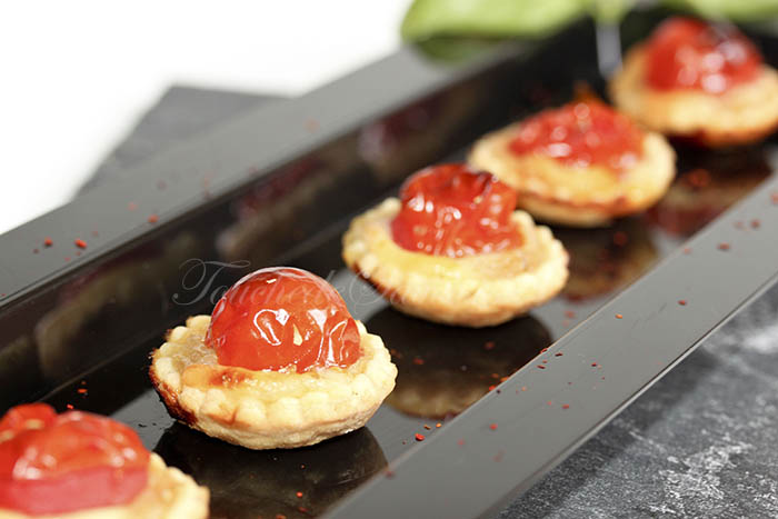 Tartelette tomate oignon mozzarella2