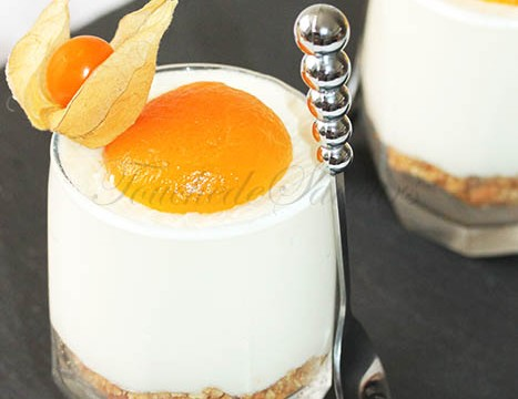 Cheesecake abricot en verrine1