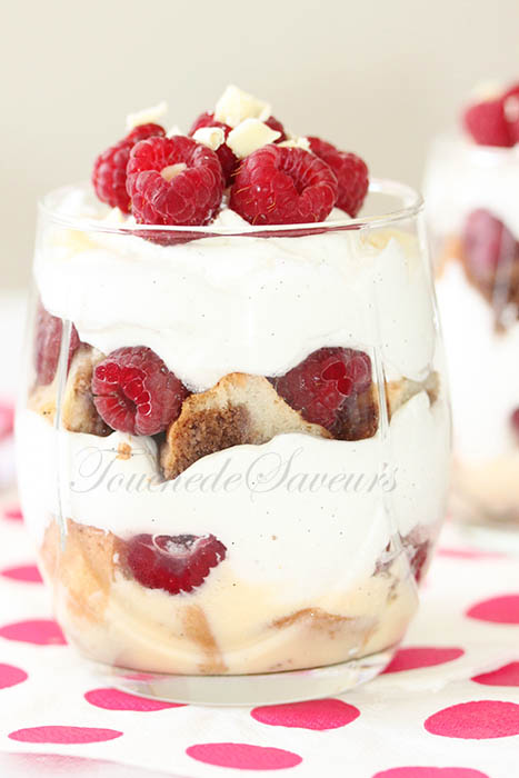 Trifle framboise chantilly yaourt1