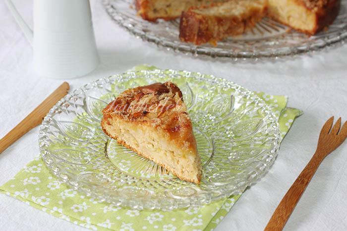 Gâteau pomme crousti moelleux
