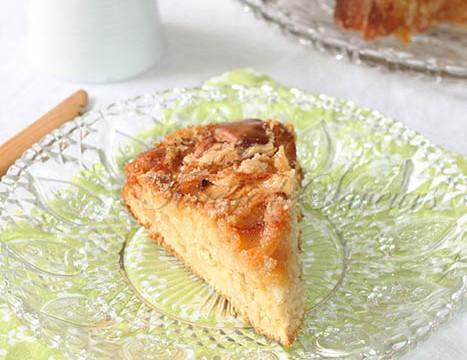 Gâteau pomme crousti moelleux1