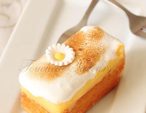 Tartelette citron amande meringuée