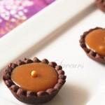 Mini tartelette cacao caramel beurre salé2